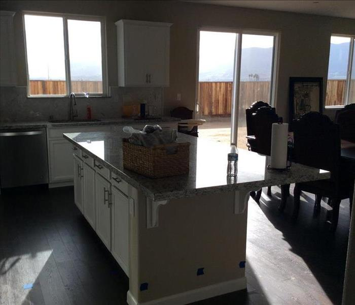 kitchen before demo